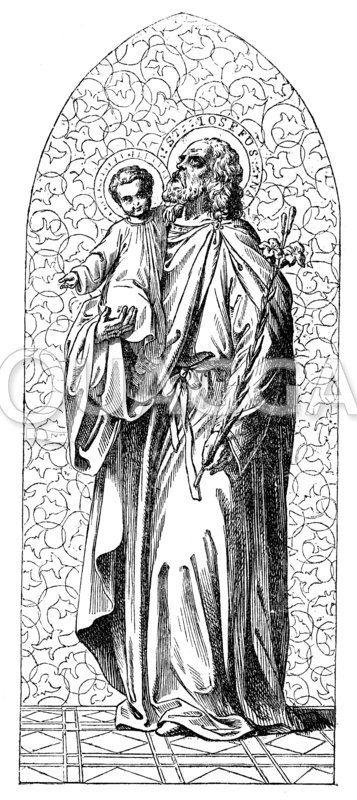 Hl. Josef. Nährvater Jesu