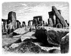 Stonehenge bei Salisbury
