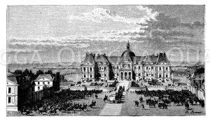 Schloss von Vaux bei Melun
