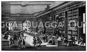 Platz der Eroberungen im 17. Jahrhundert. Nach der Eroberung im 17. Jahrhundert (jetzt Vendomeplatz). Nach einem zeitgenössischen Kupferstich in der Bibliothek nationale zu Paris