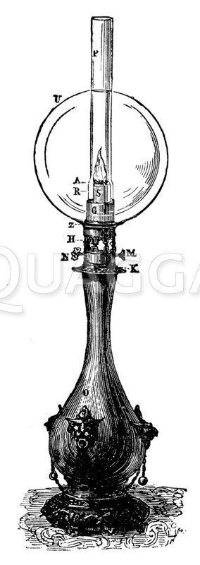 Moderateurlampe