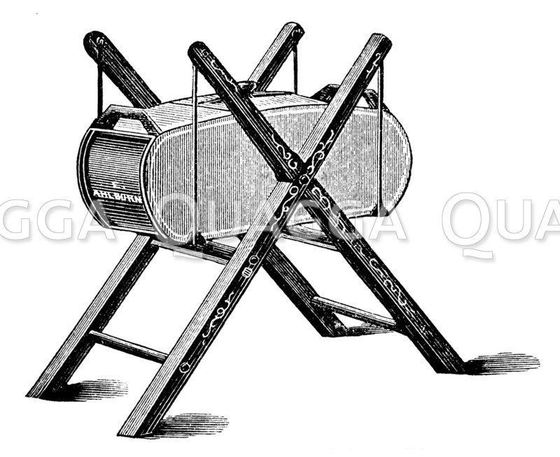 Amerikanische Schaukelbuttermaschine
