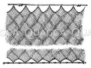 Dreiwandiges Netz