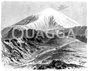 Berg Ararat in Ostanatolien/Türkei