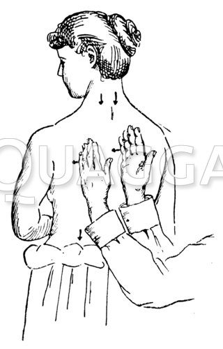 Massage: Rückenmassage