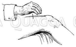 Massage: Klopfen mit der hohlen Hand