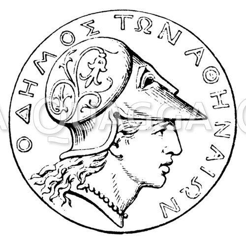 Wappen von Athen
