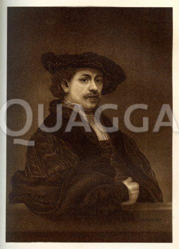 Rembrandt von Rijn. Selbstbildnis