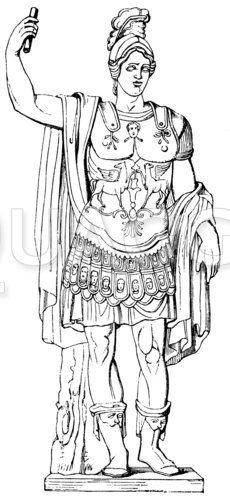 Alexander der Große. Bildsäule im Museum des Kapitol