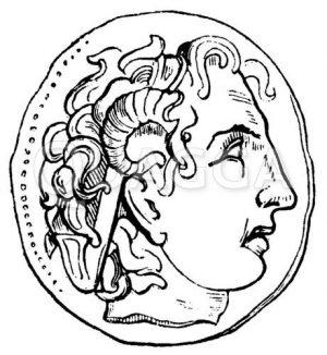 Alexander als Zeus Ammon