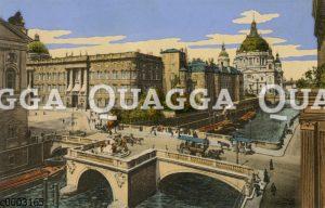 Berlin: Kurfürstenbrücke und Königliches Schloss