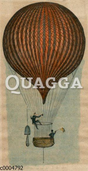 Heißluftballon von Charles Green