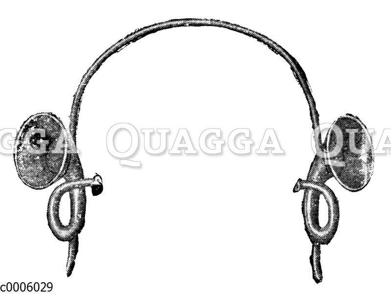 Doppelseitiges Hörrohr