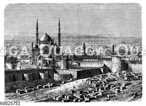 Kairo vom Dschebel Mokatam aus gesehen