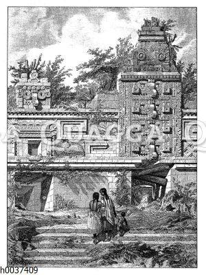 Palastruine in Uxmal