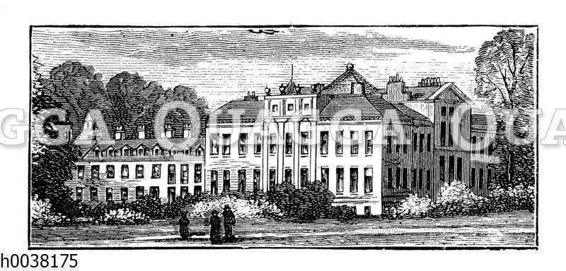 Kensington Palace (Kensington-Palast) in London