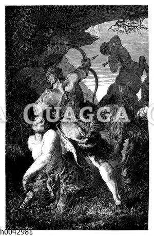 Herkules und die Centauren