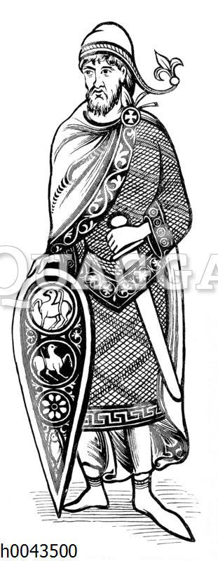 Französischer Edelmann des XII. Jahrhunderts