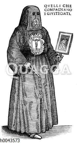 """Barmherziger Bruder von der venezianischen """"Bruderschaft des Todes"""""""