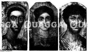Porträts aus den Gräbern von al-Fayy?m