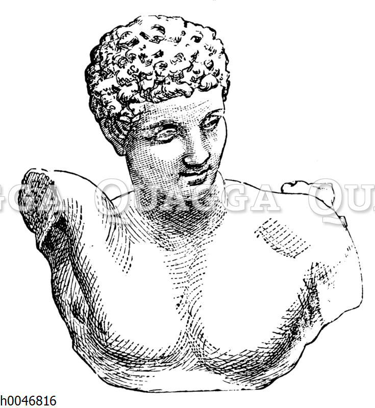 Hermes. Von Praxiteles