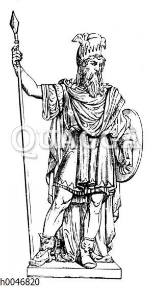 Odin. Von B. E. Fogelberg
