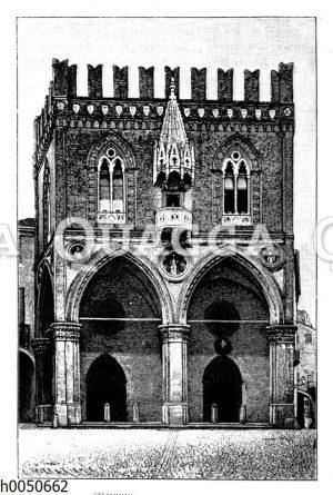 Mercanzia oder Loggia dei Mercanti in Bologna