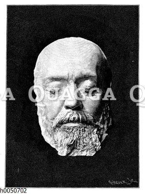 Berhold Auerbach: Totenmaske