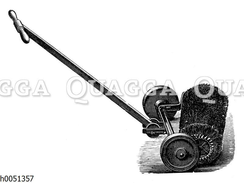Rotierende Handkehrmaschine