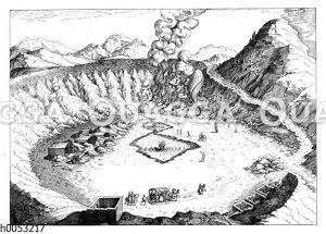 Vulkanische Landschaft: Solfatara bei Pozzuoli