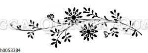 Vignette: Blumen