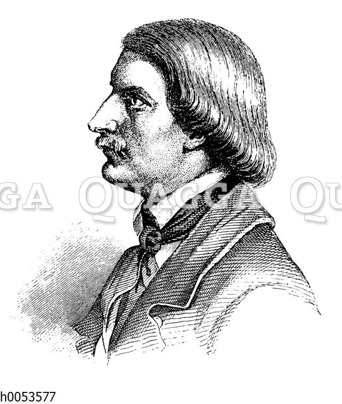 Karl Gutzkow. Jugendbildnis