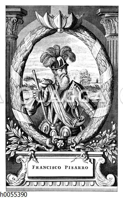 Francisco Pizarro: Porträt.