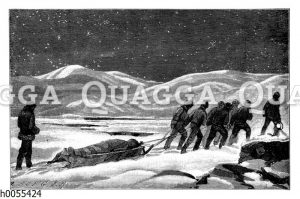 Adolphus W. Greely: Begräbnis im Polareis