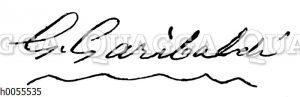 Giuseppe Garibaldi: Autograph