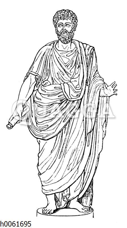 Römer in der Toga