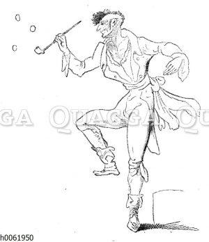 Ernst Theodor Amadeus Hoffmanns Zeichnung des wahnsinnigen Kreisler