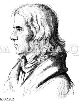 Adelbert von Chamissos Bildnis aus dem Jahre 1828