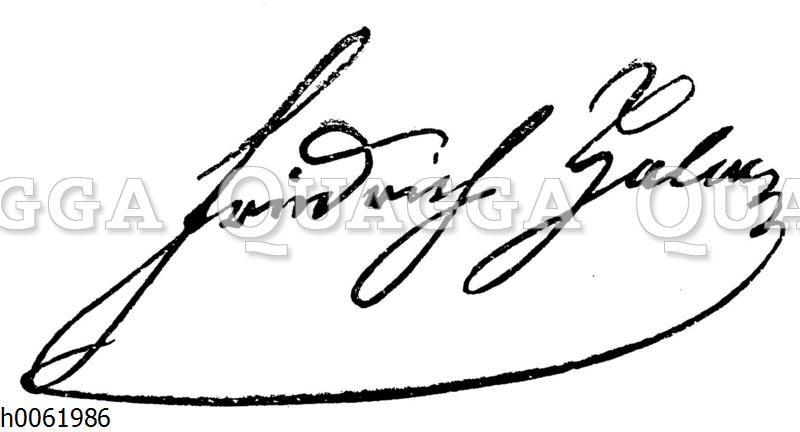 Friedrich Halm: Autograph