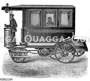 Petroleummotorwagen als Omnibus