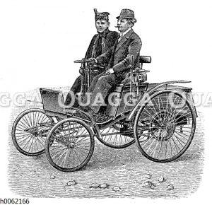 Leichter Petroleummotorwagen von Benz & Co.