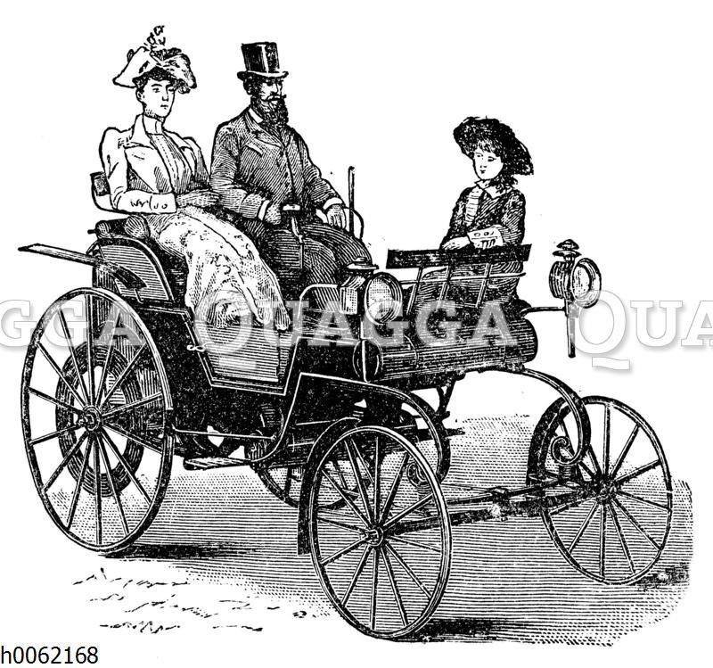 Petroleummotorkutsche von Daimler