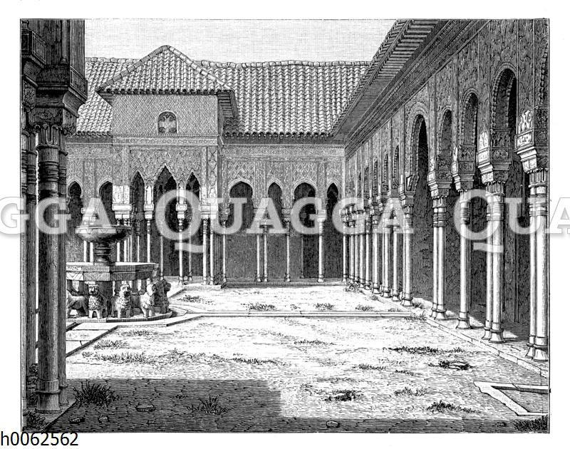 Löwenhof der Alhambra