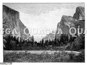 Yosemite Tal in Kalifornien