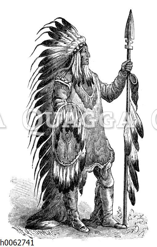 Cheyenne-Häuptling