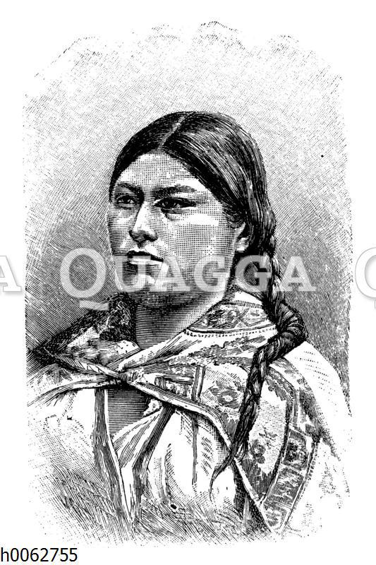 Städtische Indianerin aus Mexiko