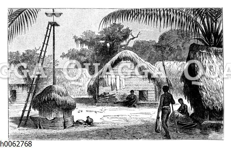 Dorf in Guayana