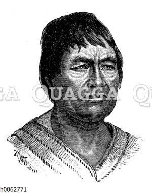 Indianer aus Ecuador