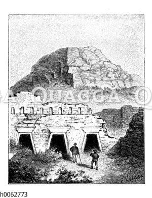 Altperuanische Bauten
