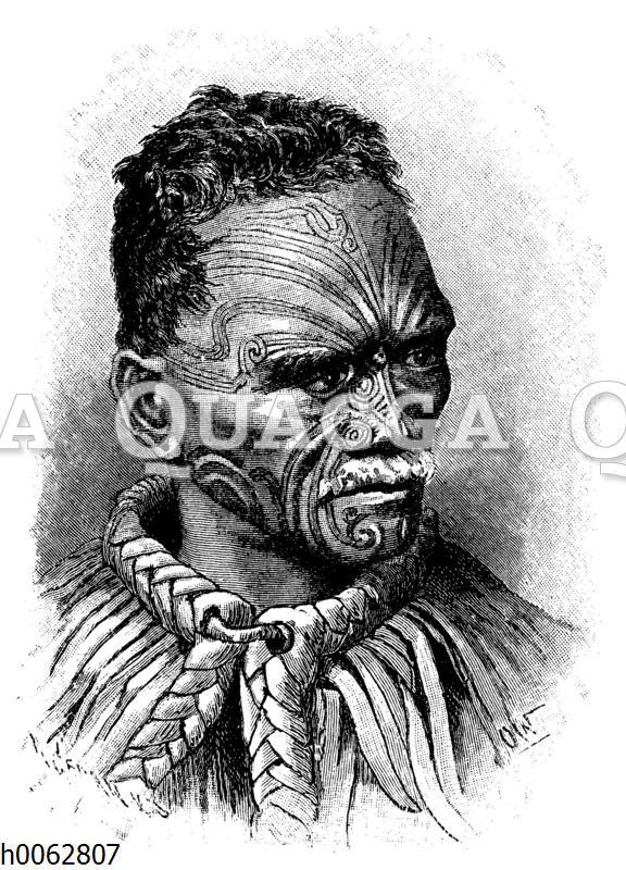 Häuptling der Maori